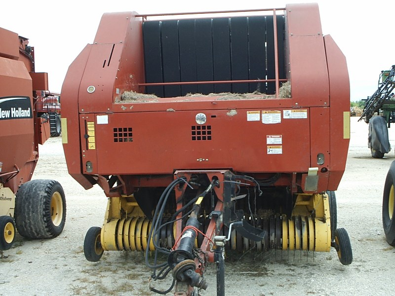 2007 New Holland BR7090 Baler-Round For Sale
