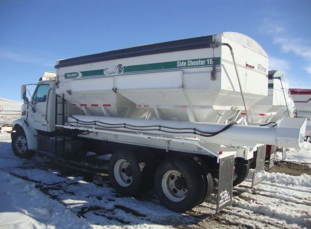 1999 Sterling  Dry Fertilizer-Transport Auger Trailer For Sale