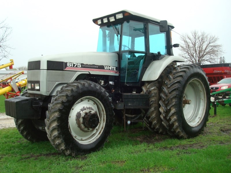 1997 Agco White 6175 Tractor For Sale