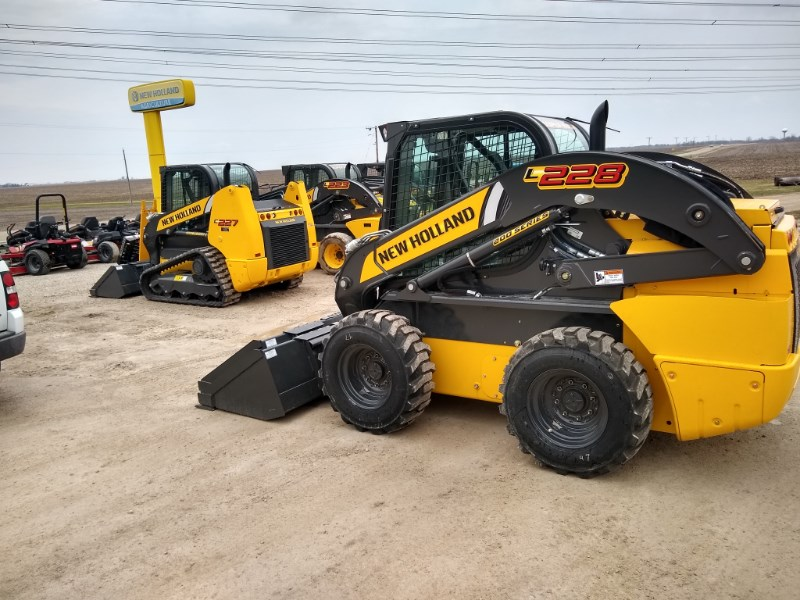 2019 New Holland L228 Skid Steer For Sale
