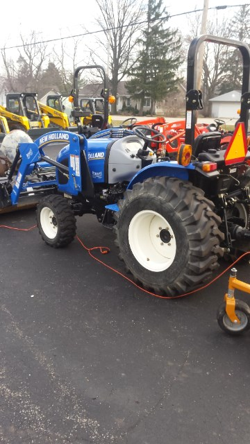 2015 New Holland WORKMASTER 37 Tractor For Sale