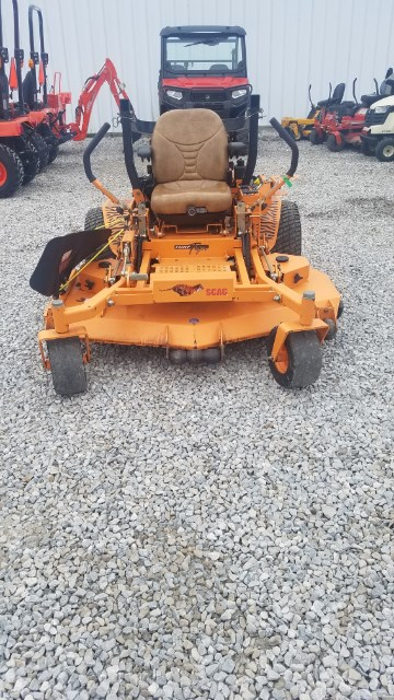 2012 Scag STT61V-29DFI Zero Turn Mower For Sale