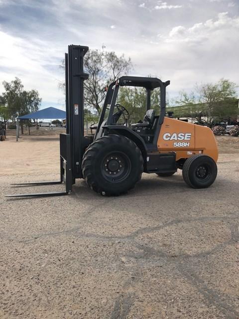 2019 Case 588H Lift Truck/Fork Lift-Rough Terrain
