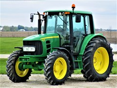 Tractor For Sale 2008 John Deere 6430 , 115 HP