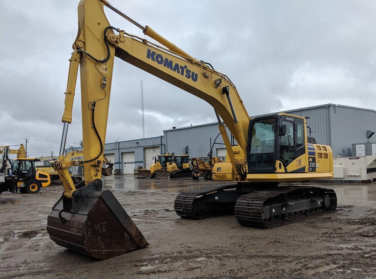 2014 Komatsu PC210LC-10 Excavator For Sale