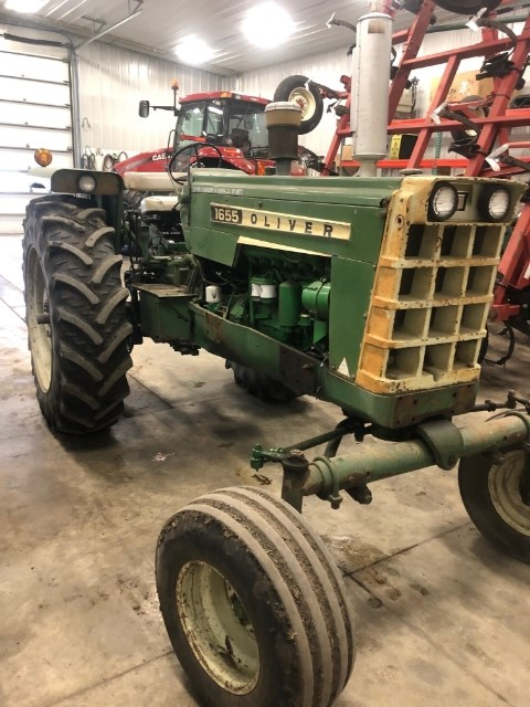 1971 Oliver 1655 Tractor For Sale