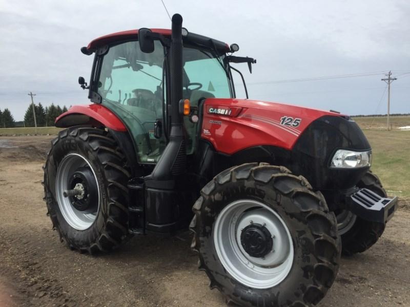 2018 Case IH MAXXUM 125 Tractor For Sale