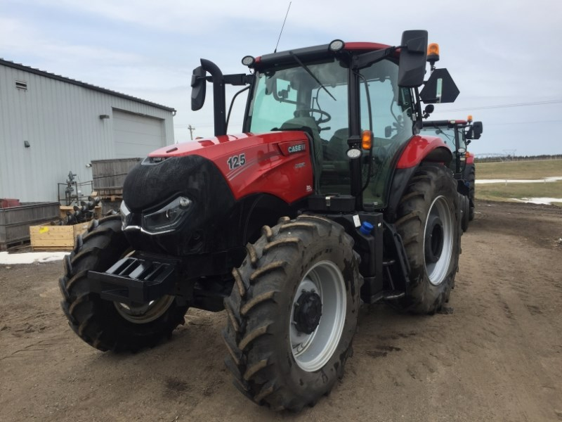 2018 Case IH MAXXUM 125 Tractor For Sale