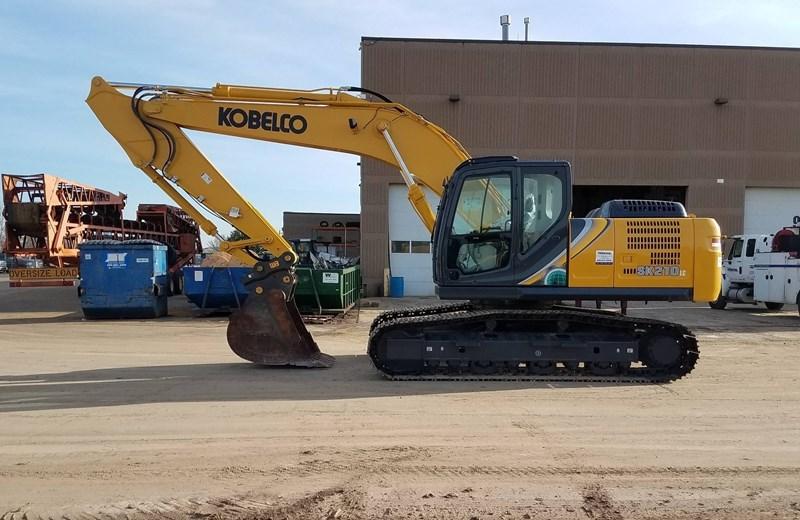 2019 Kobelco SK210LC-10 Excavator For Sale