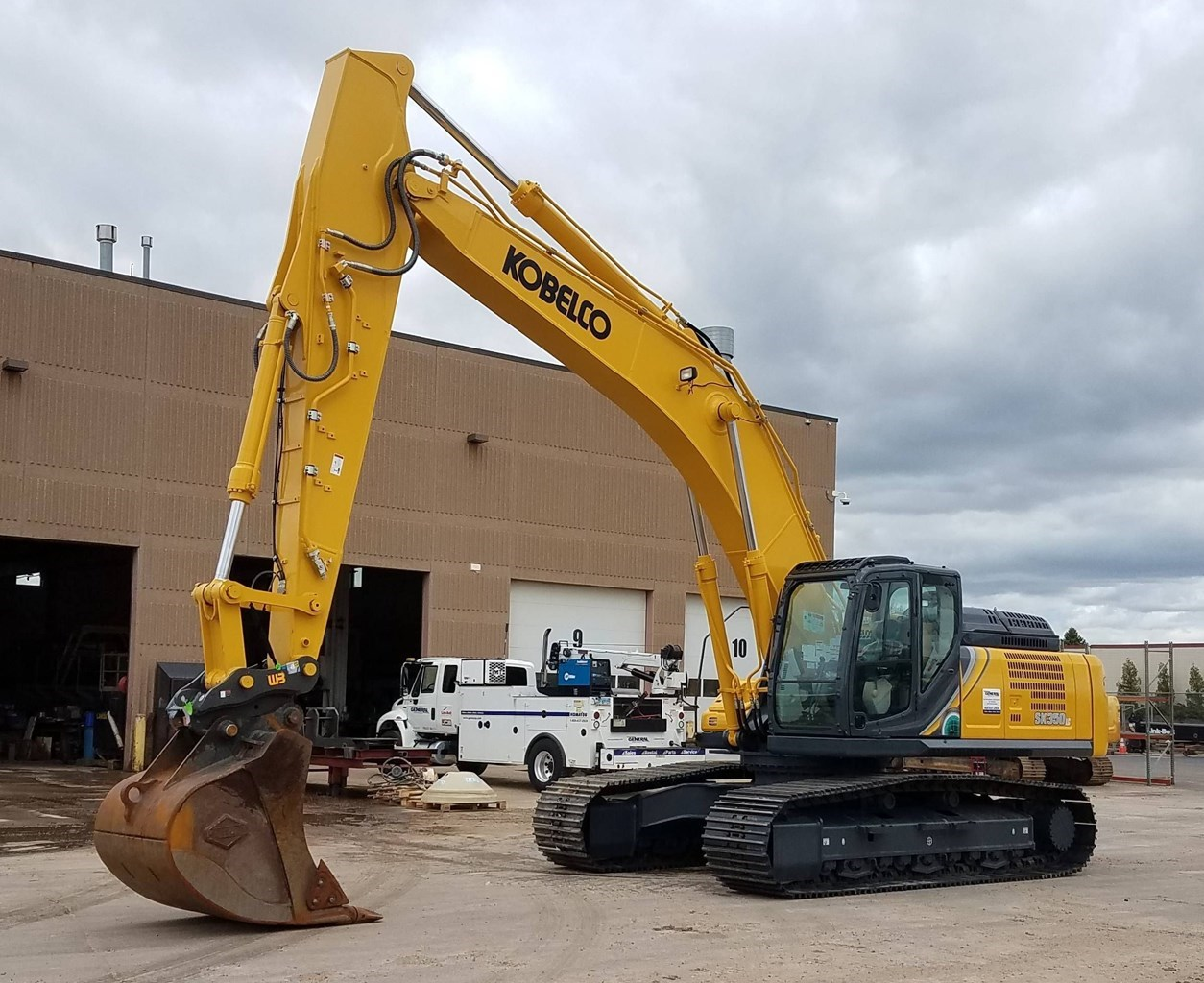 2019 Kobelco SK350LC-10 Excavator For Sale