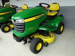 Riding Mower For Sale 2010 John Deere X300 , 17 HP