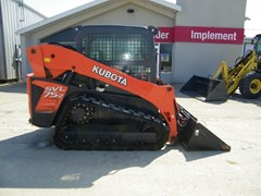 Skid Steer-Track For Sale 2016 Kubota SVL75-2HWC , 75 HP