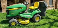 Riding Mower For Sale 2008 John Deere X300 , 17 HP