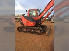 Excavator-Track For Sale 2007 Kubota KX080-3