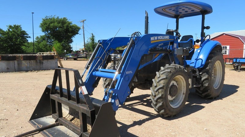 2014 New Holland POWERSTAR T4.75 Tractor For Sale