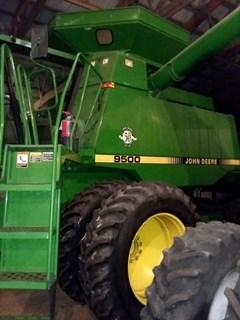 Combine For Sale 1997 John Deere 9500 , 215 HP