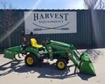 Tractor For Sale: 2017 John Deere 1023E, 23 HP