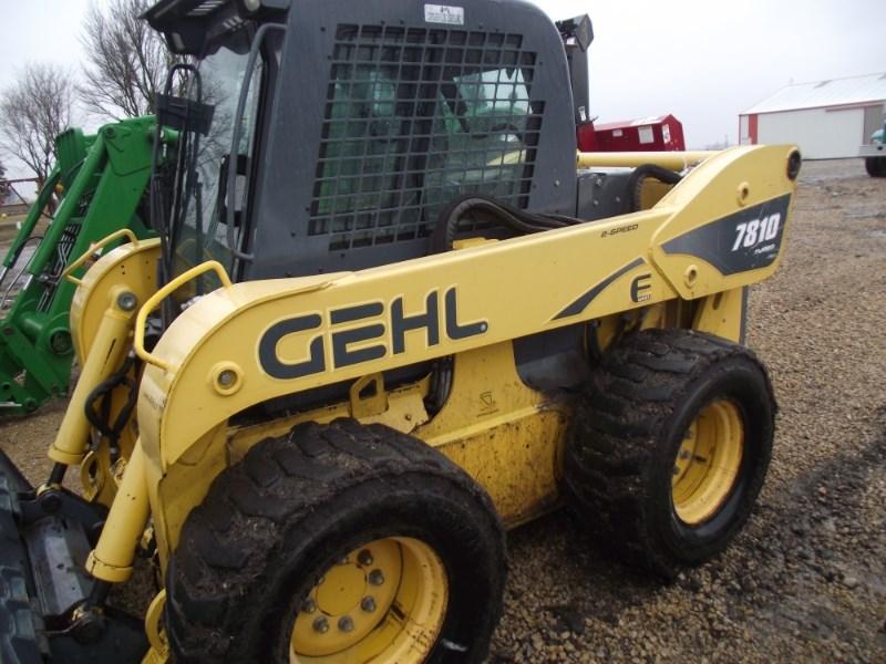 2010 Gehl 7810E Skid Steer For Sale