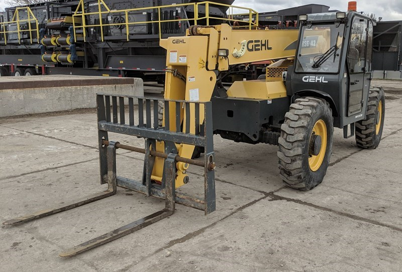 2013 Gehl RS6-42 Forklift For Sale