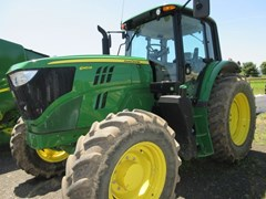 Tractor - Row Crop For Sale 2016 John Deere 6145M , 174 HP