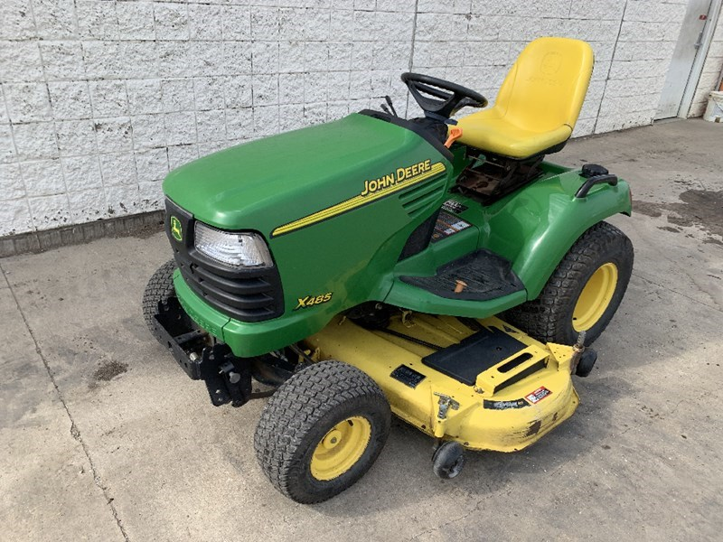 John Deere X485 Riding Mower For Sale