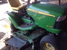 Riding Mower For Sale:  2010 John Deere X748 , 24 HP