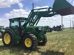 Tractor For Sale 2014 John Deere 6125R , 125 HP