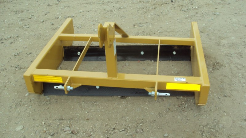 Dirt Dog NEW 3pt 4' CGRB48 bionic road grader Blade Rear-3 Point Hitch For Sale