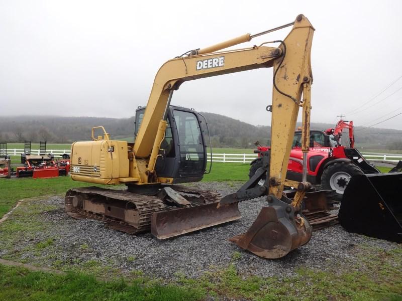 2004 John Deere 80C Excavator-Track For Sale