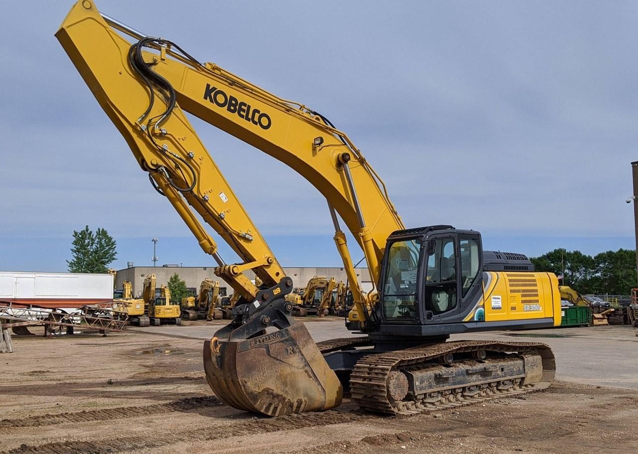 2019 Kobelco SK350LC-10 Excavator For Sale