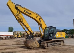 Excavator For Sale 2019 Kobelco SK350LC-10