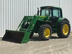 Tractor For Sale 2011 John Deere 6430 , 115 HP