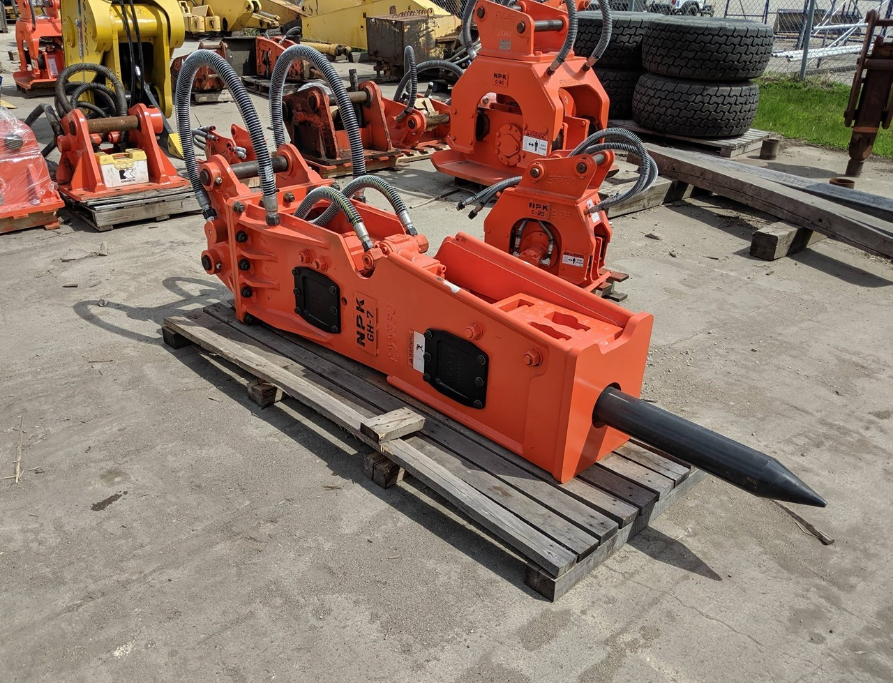 2019 NPK GH-7 Hammer For Sale
