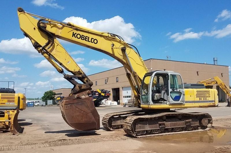 2005 Kobelco SK330LC-6 Excavator For Sale