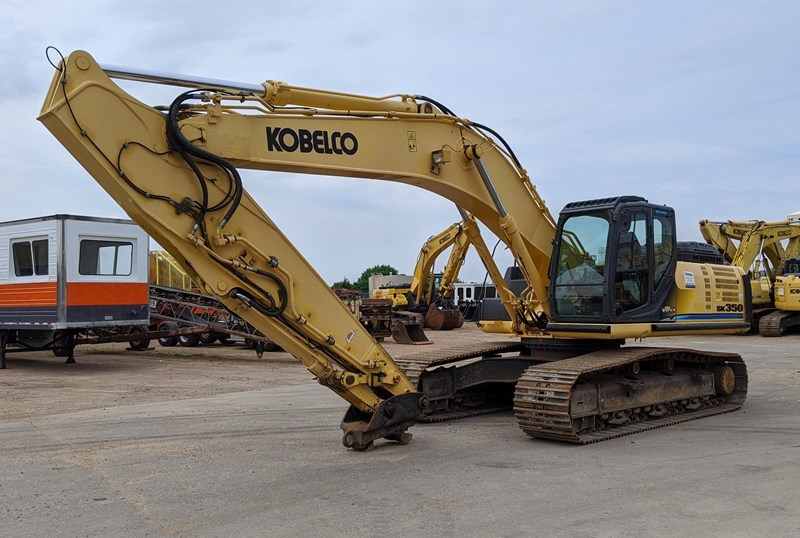 2012 Kobelco SK350LC-9 Excavator For Sale