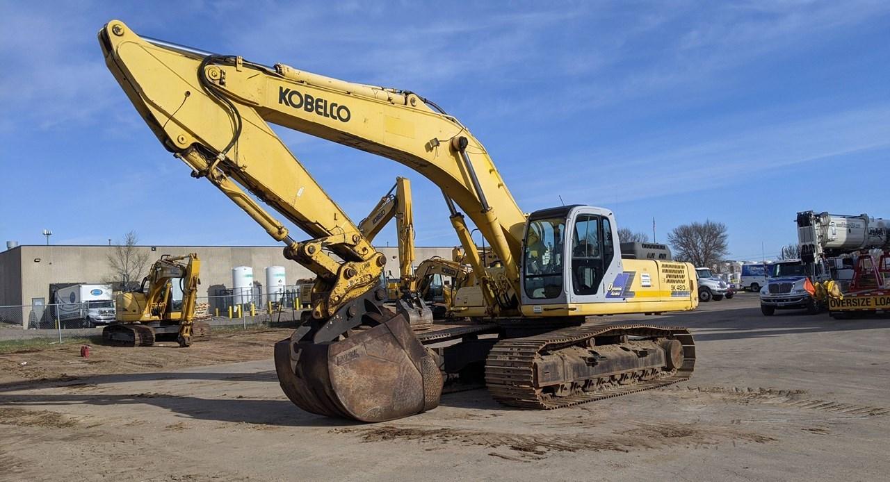 2005 Kobelco SK480LC Excavator For Sale