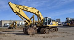 Excavator For Sale 2005 Kobelco SK480LC