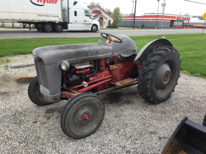1955 Ford 640 Tractor For Sale