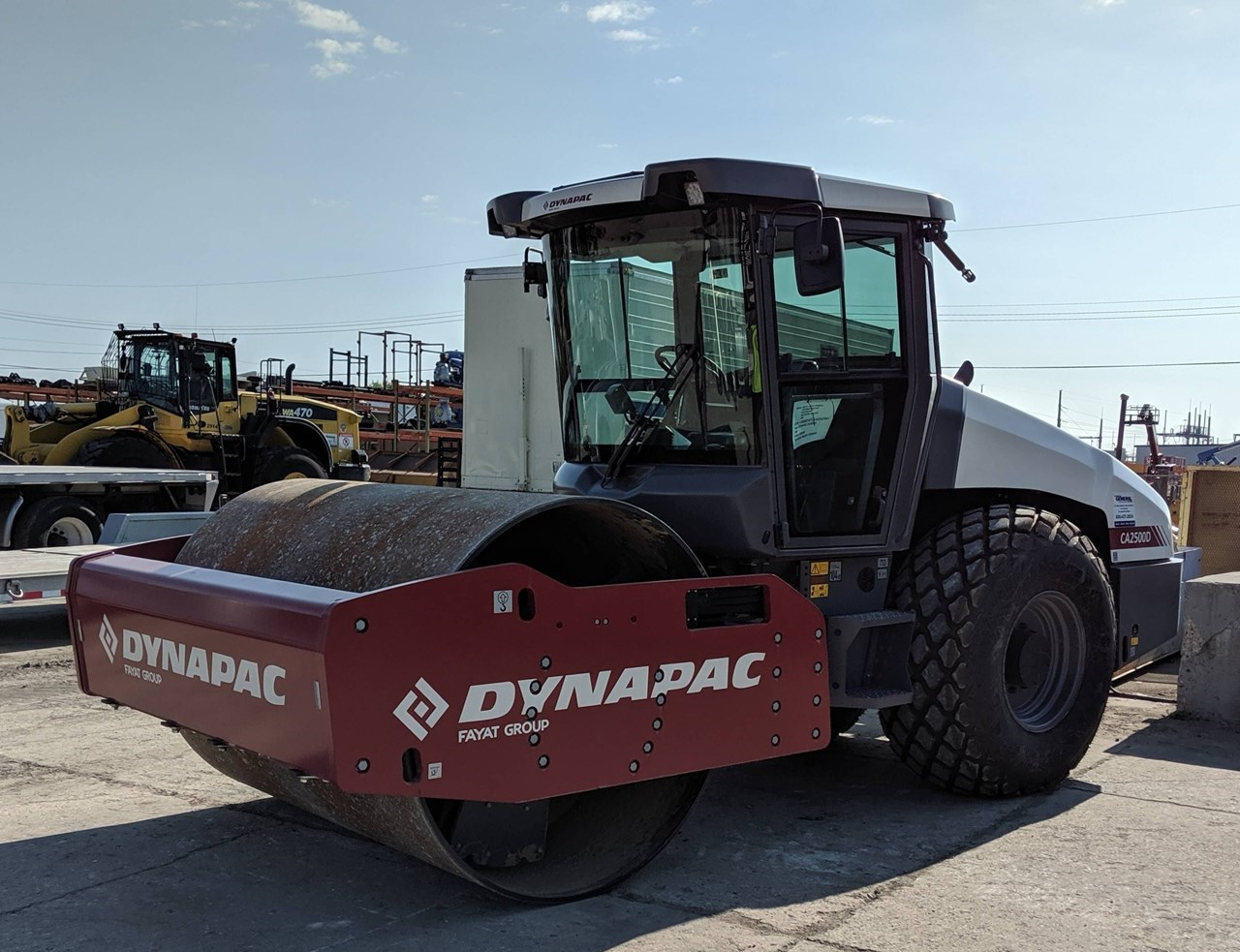2019 Dynapac CA2500D Compactor For Sale