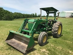 Tractor For Sale 1984 John Deere 2550 , 75 HP