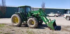 Tractor For Sale:  1996 John Deere 6400