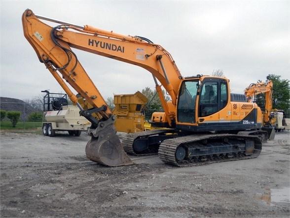 2015 Hyundai R220LC-9A Excavator-Track