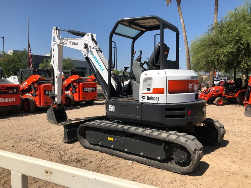 Bobcat E50 T4 Excavator-Track