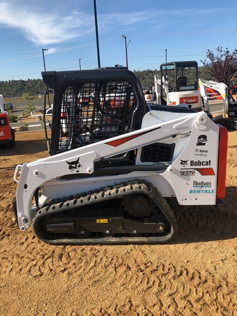 Bobcat T450 T4 Skid Steer-Track