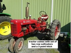 Tractor - Utility For Sale 1951 Farmall C , 23 HP