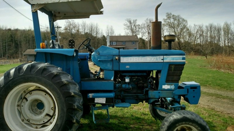 1979 Ford 7700 Tractor For Sale