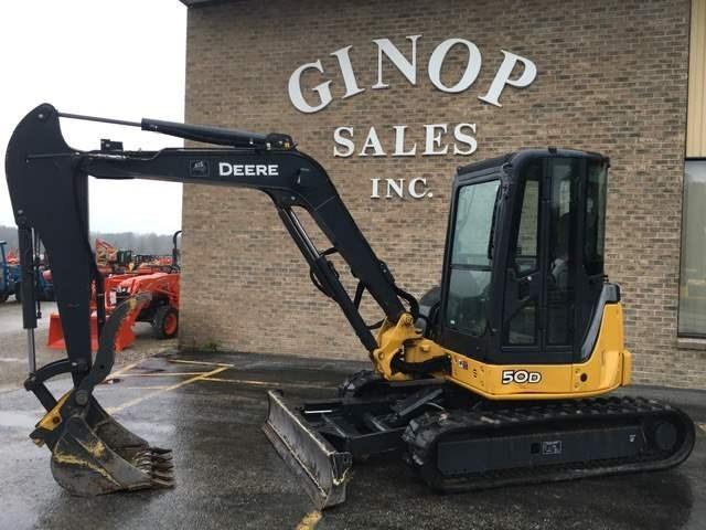 2012 John Deere 50D Excavator-Mini For Sale