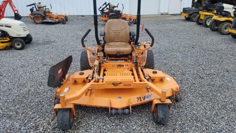 2012 Scag STT-35BVAC Zero Turn Mower For Sale