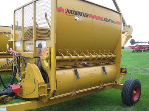 Bale Processor For Sale:  2013 Haybuster 2655