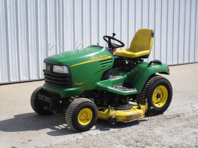 2003 John Deere X485 Riding Mower For Sale
